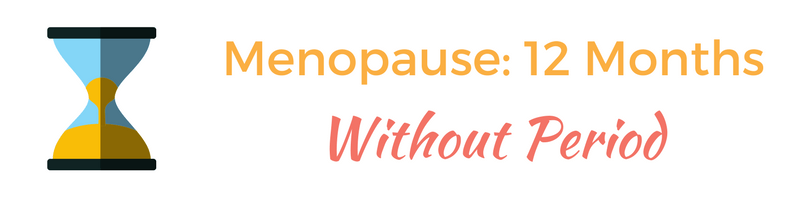 Menopause without a period