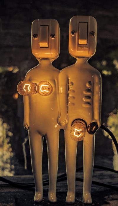 man & women sculpture - sex drive