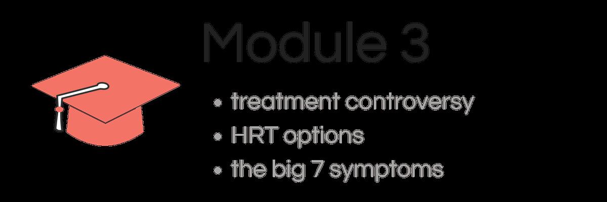 Module 3 - Menopause Course