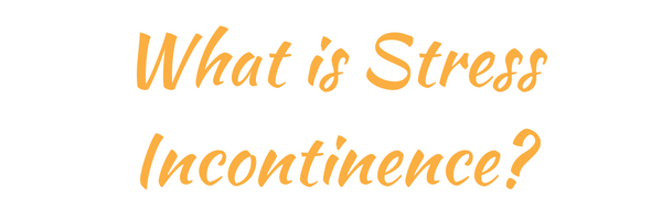 stress incontinence - bladder incontinence