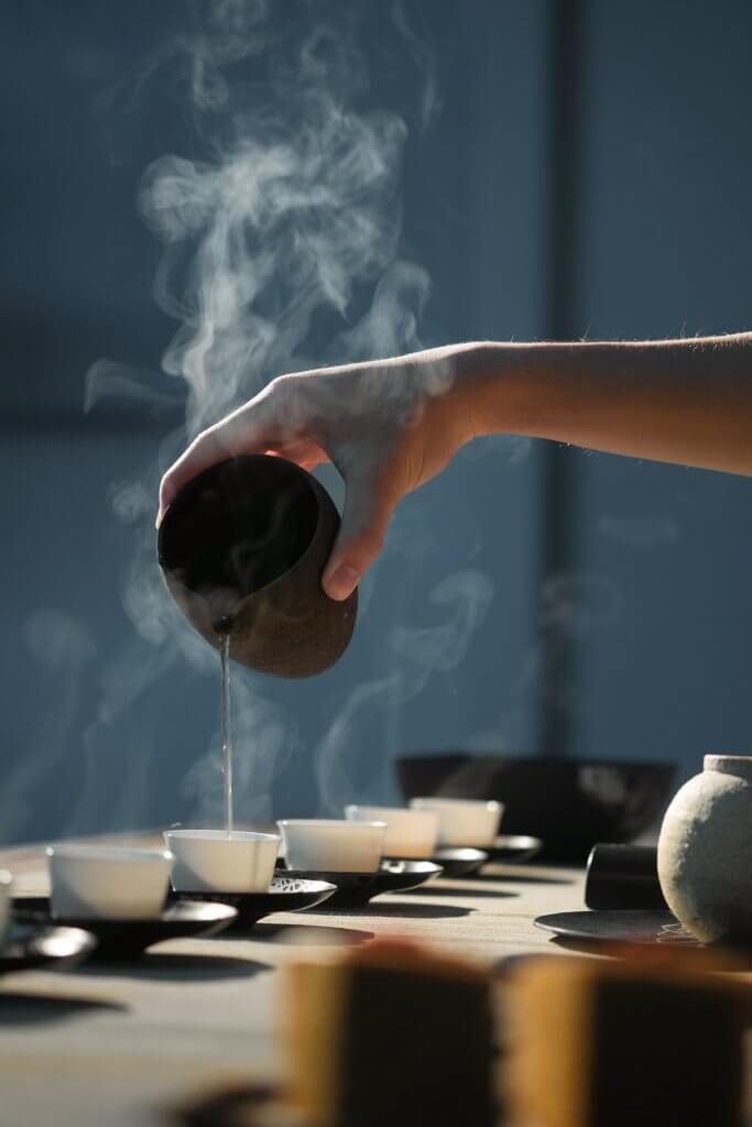 tea - menopause in China