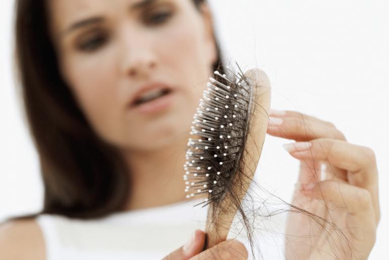 hair loss during menopause
