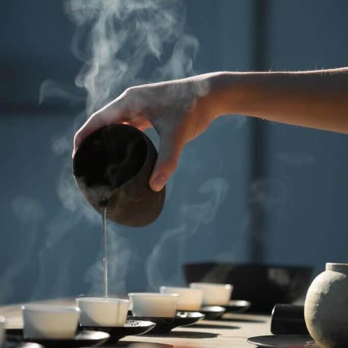 tea - menopause in China
